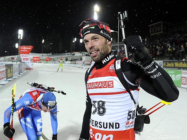 Claudio Böckli bester Schweizer im Sprint von Pokljuka