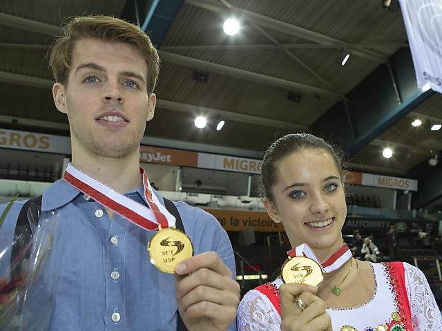 Stürzinger und Walker erstmals Schweizer Meister