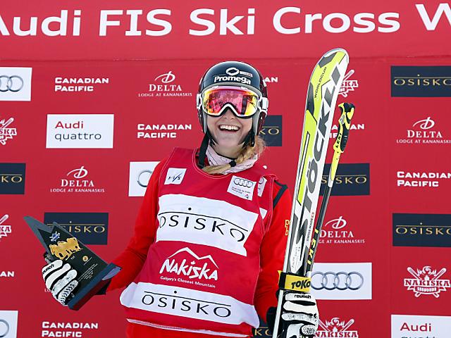 Totale Schweizer Dominanz im Skicross