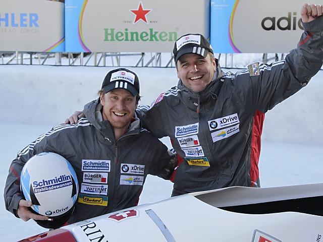Beat Hefti wird überlegen Schweizer Meister im Zweier