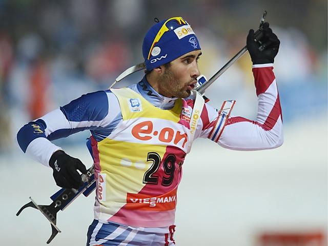 Martin Fourcade gewinnt Einzelrennen