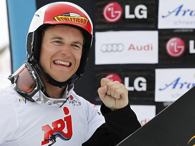 Bestresultat für Snowboarder Nevin Galmarini