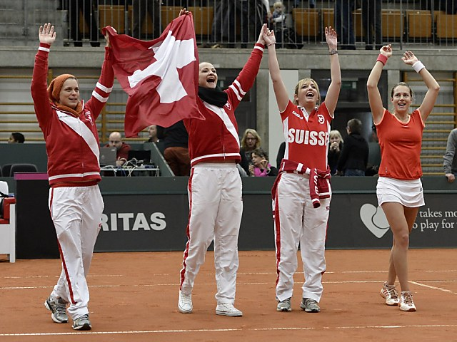 Schweizer Fedcup-Team spielt gegen Australien in Chiasso