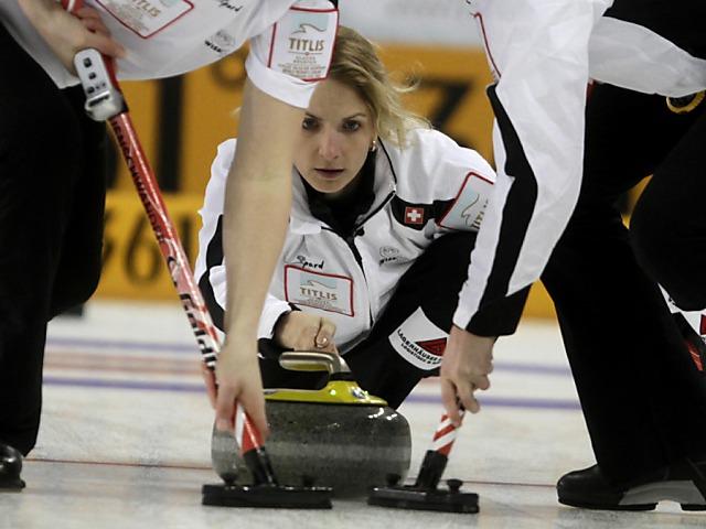 Schweizer Curlerinnen verlieren gegen Schweden und Russland