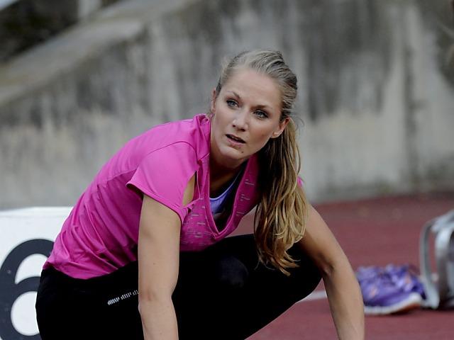 Lisa Urech kann wieder voll trainieren