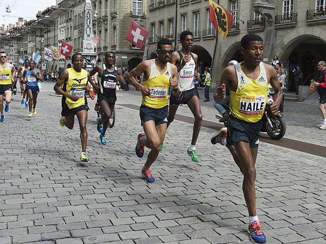 Gebrselassie gewinnt GP Bern mit Master-Weltrekord