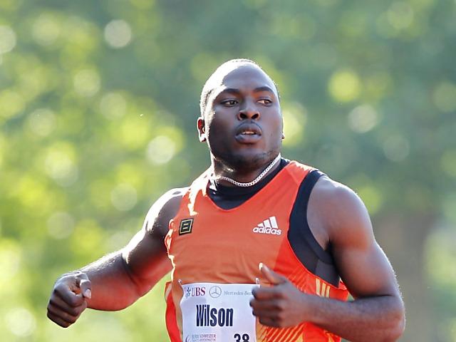 100 m-Schweizer Rekord durch Alex Wilson