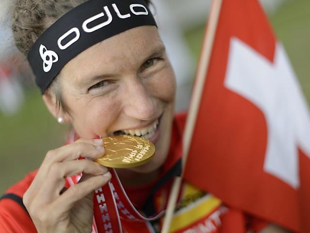 21. WM-Goldmedaille für Simone Niggli