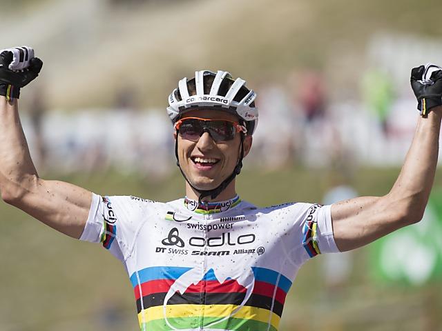 Weltcup-Sieg von Nino Schurter in Andorra