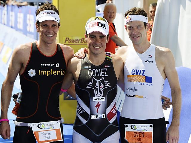 Zweimal EM-Silber für Schweizer Triathleten