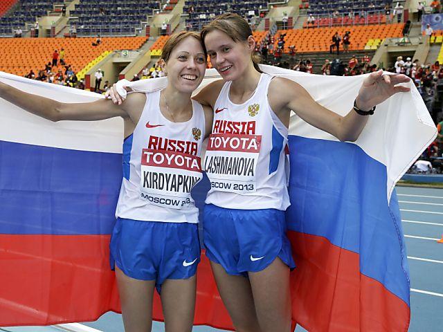 Geherin Laschmanowa gewinnt chaotisches WM-Rennen