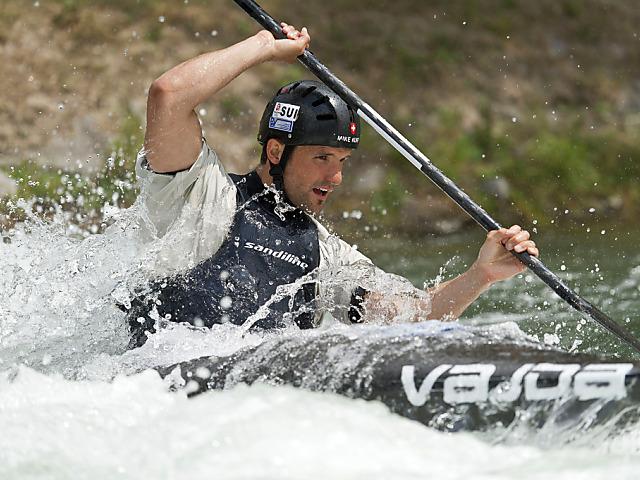 Mike Kurt in Slowenien knapp neben dem Podest