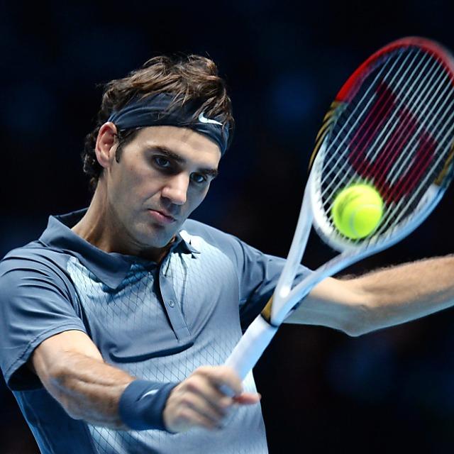 Live: Roger Federer - Blaz Kavcic