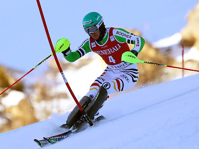 Marcel Hirscher in Adelboden mit Slalom-Triple