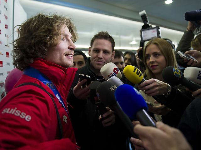Halfpipe-Olympiasieger Podladtchikov in der Schweiz gelandet