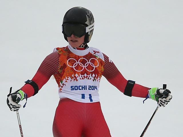 Tina Maze auch Olympiasiegerin im Riesenslalom