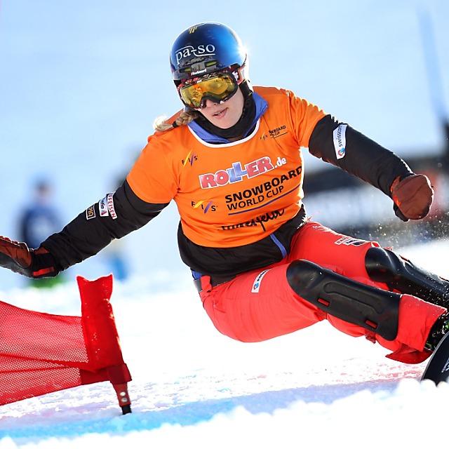 Gold und Silber für Schweizer Snowboarder im ersten Alpinrennen