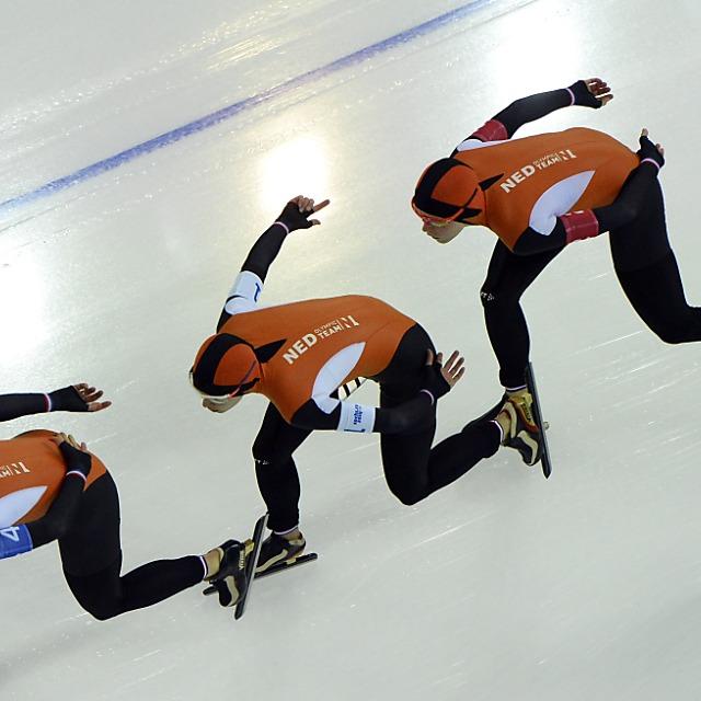 Zweimal Gold für Holland in der Teamverfolgung
