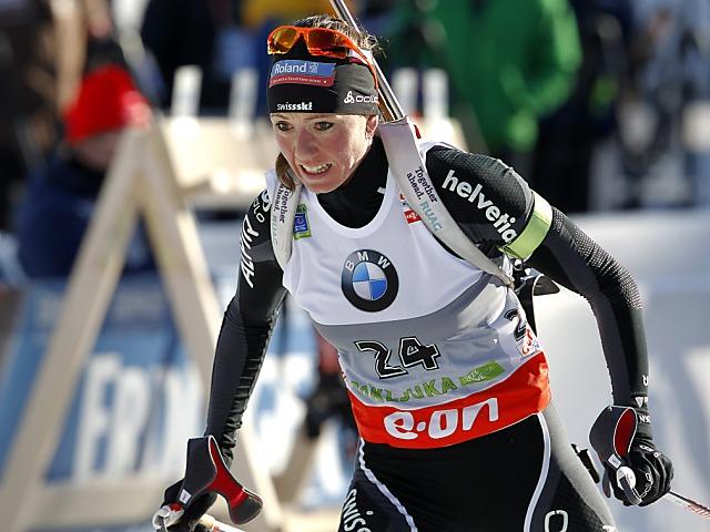 Selina Gasparin Fünfte in Kontiolahti