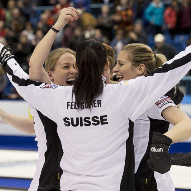 Binia Feltschers Curlerinnen sind Weltmeisterinnen