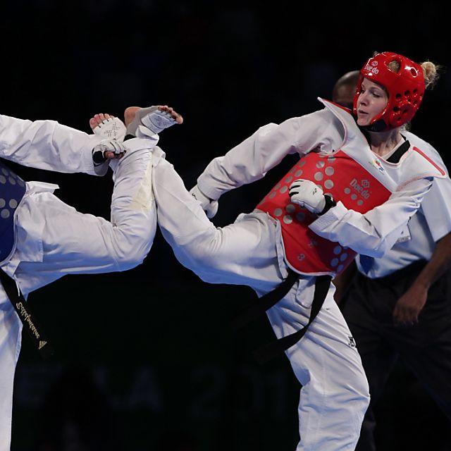 Nina Kläy erste Schweizer Europameisterin im Taekwondo