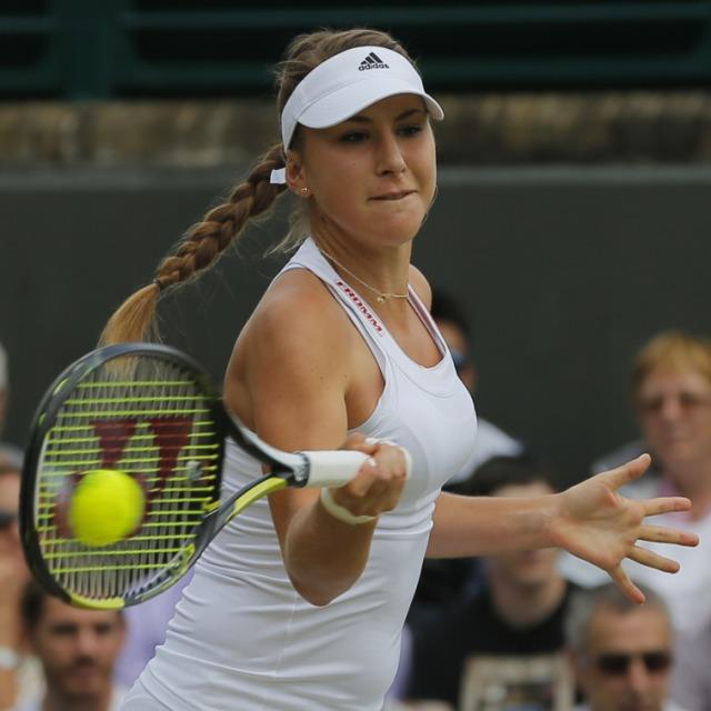 Bencic erstmals in der dritten Runde von Wimbledon
