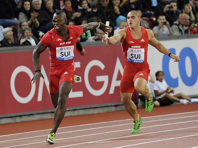 Formkurve der Sprint-Staffel steigt