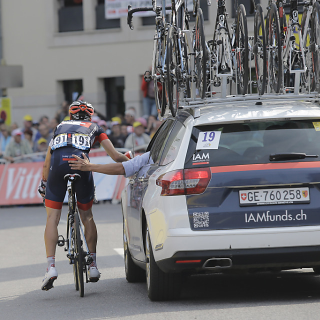 Mathias Frank muss Tour de France aufgeben