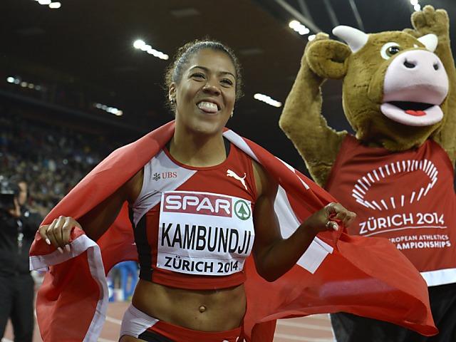 Mujinga Kambundji und Selina Büchel heute erneut im Einsatz