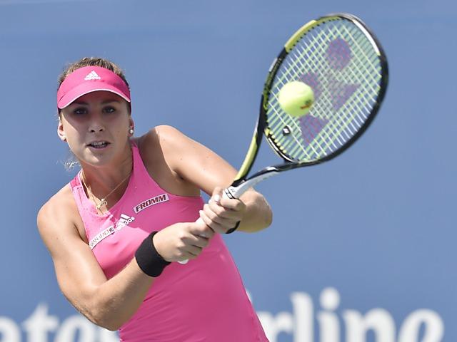 Bencic in ihrem ersten US-Open-Viertelfinal ohne Chance