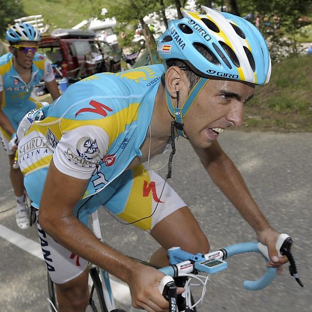 Navarro sorgt für spanischen Etappensieg - Contador bleibt Leader