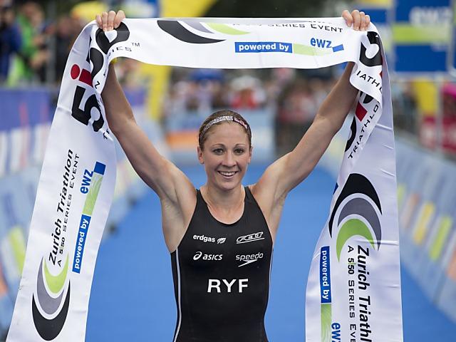 Daniela Ryf auch Weltmeisterin über halbe Ironman-Distanz