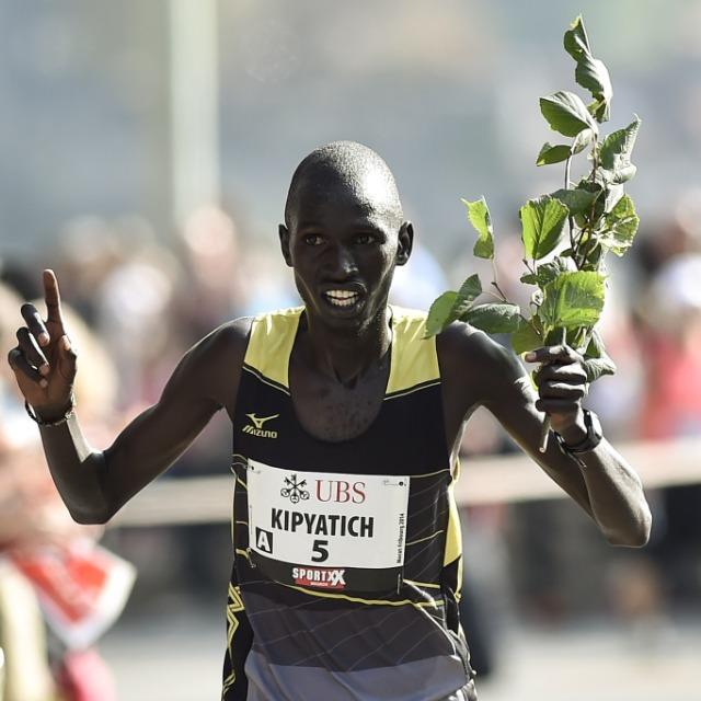 Neuer Streckenrekord durch den Kenianer Kipyatich