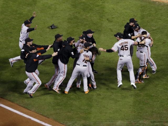 San Francisco Giants zum dritten Mal seit 2010 MLB-Champion