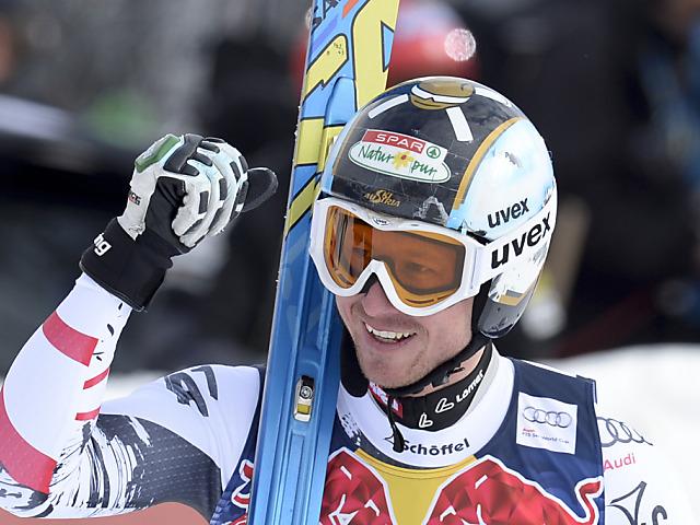Hannes Reichelt schlägt Seriensieger Jansrud