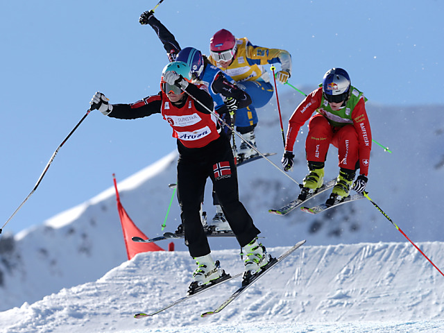 Überraschender Sieg von Skicrosser Bischofberger