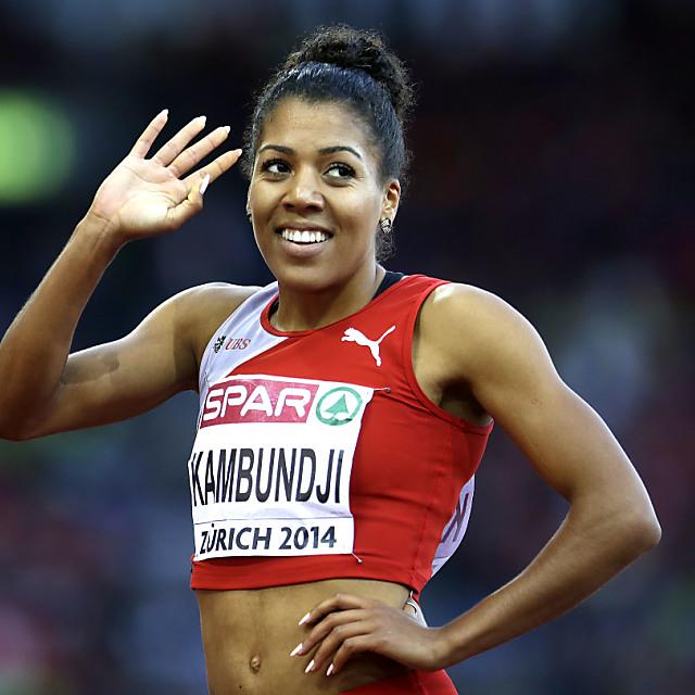 Kambundji zweimal mit Schweizer Rekord