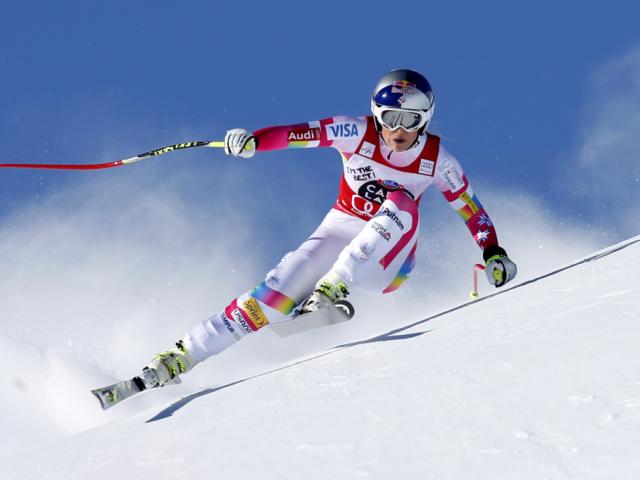 Vonn Super-G-Siegerin in St. Moritz - Gut gestürzt