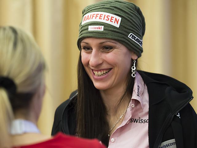 Auch Marianne Abderhalden bei der Ski-WM