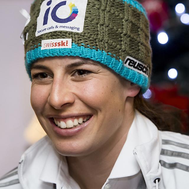Dominique Gisin fliegt am Freitag an die WM