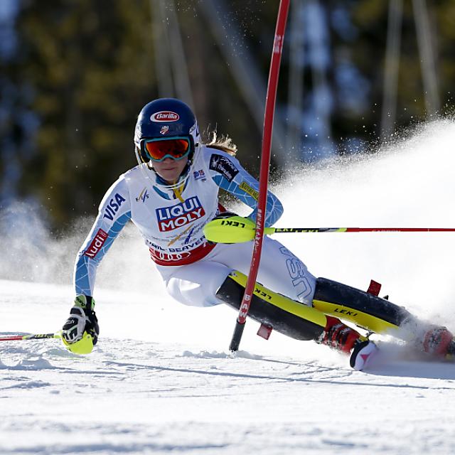 Shiffrin gewinnt erneut den WM-Titel im Slalom