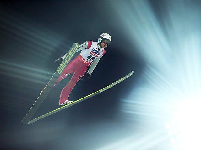 Schweizer Skispringer enttäuschen abgesehen von Ammann