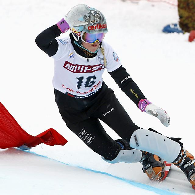 Julie Zogg übernimmt Weltcup-Führung