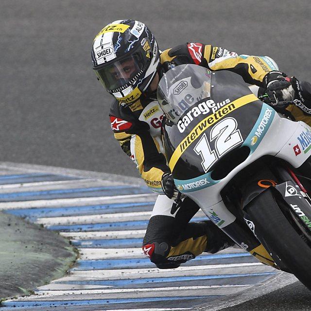 Verregneter Moto2-Testauftakt in Jerez