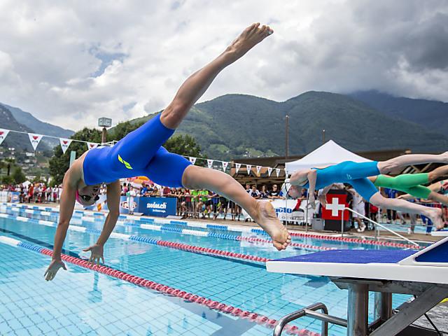 Sasha Touretski schwimmt Schweizer Rekord