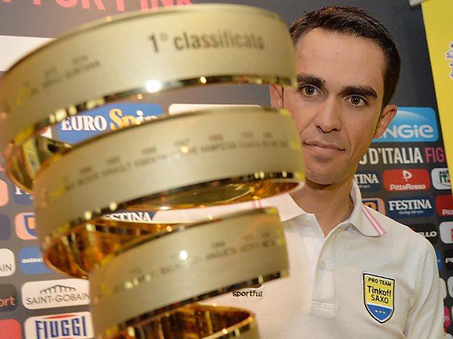 Alberto Contador heisst der grosse Favorit am Giro