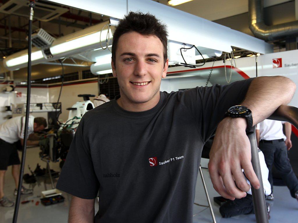 Formel-1-Cockpit für Fabio Leimer