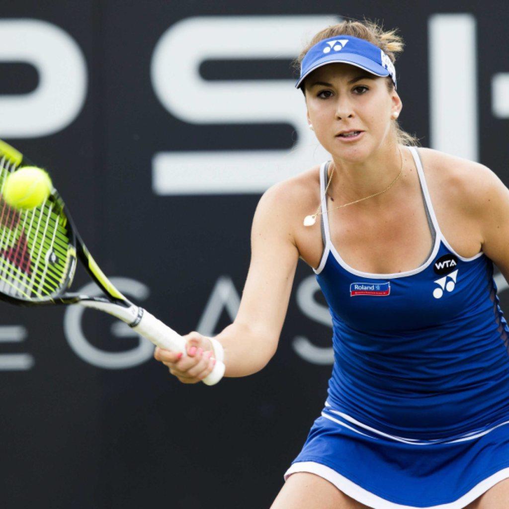 Belinda Bencic in der zweiten Runde