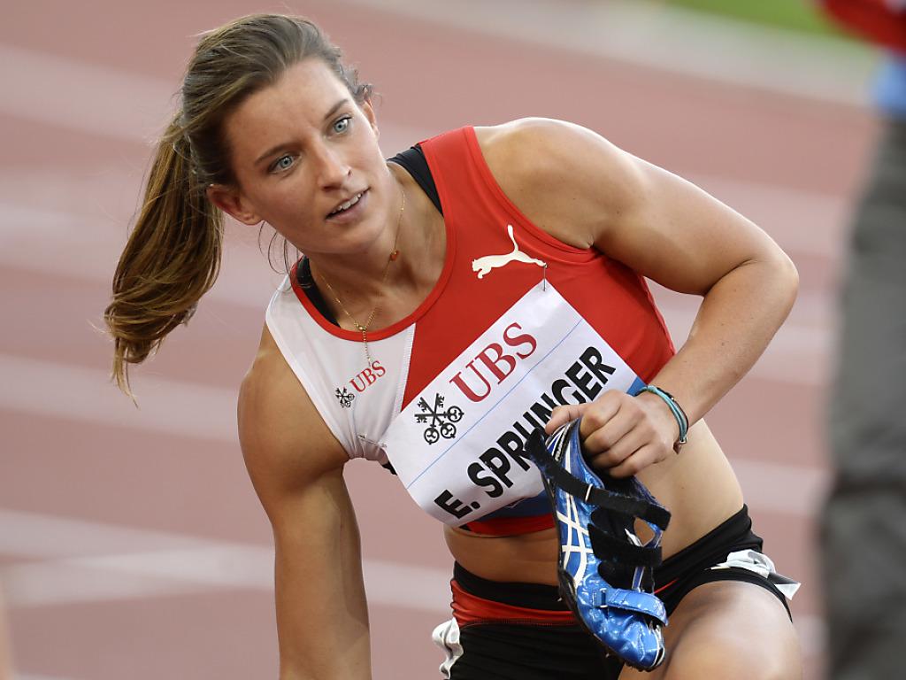 Saisonende für Siebenkämpferin Ellen Sprunger
