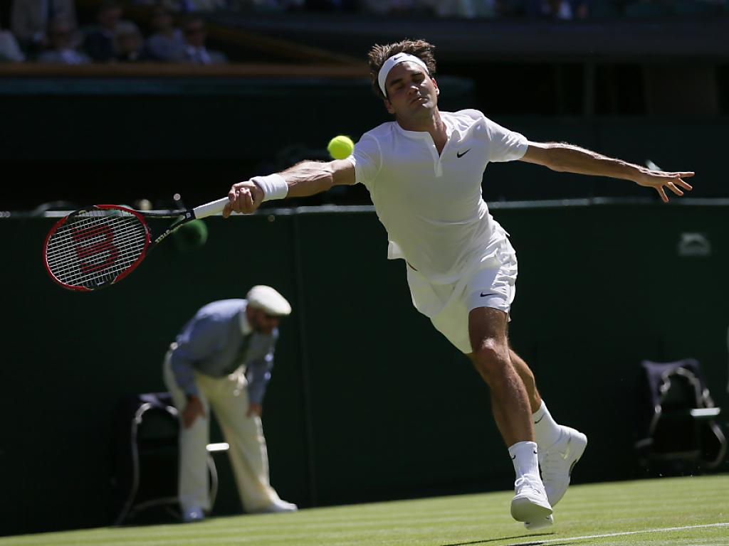 Problemloser Auftaktsieg für Roger Federer